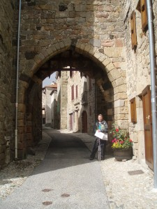 The south gate of the medieval town of Pradelles