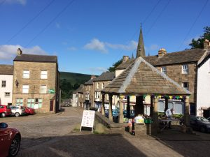 Alston in the morning sun