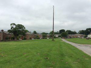 Maypole on Milburn green